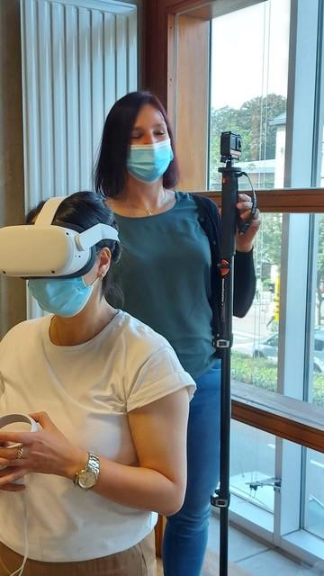 VR en camera